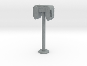 Drive In Speaker / Stand  - 1:7.5 Scale in Polished Metallic Plastic