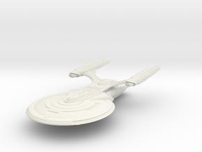 Nash Class BattleCruiser in White Natural Versatile Plastic