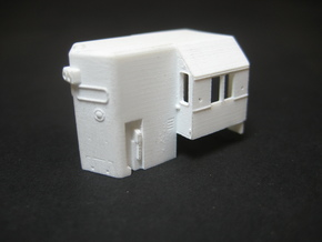 N Scale N&W SD45 High Hood  in Smooth Fine Detail Plastic