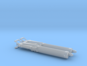 Two 1/24 Vickers Heavy Machine guns. in Smooth Fine Detail Plastic