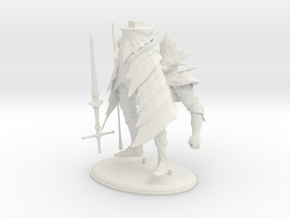 Dark Souls Ornstein Printable in White Natural Versatile Plastic
