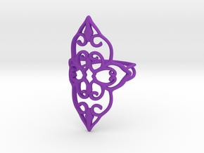 Bloom - size 6 in Purple Processed Versatile Plastic