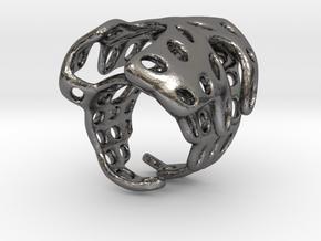 s4r019s7 GenusReticulum  in Polished Nickel Steel