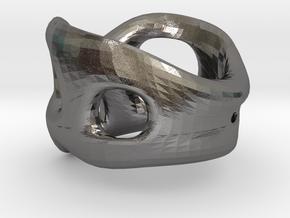 s3r033s7 GenusReticulum in Polished Nickel Steel