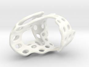 s4r011s8 GenusReticulum  in White Processed Versatile Plastic
