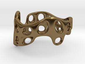 s3r028s9 GenusReticulum  in Polished Bronze