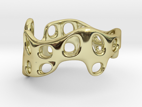 s3r028s9 GenusReticulum  in 18k Gold Plated Brass