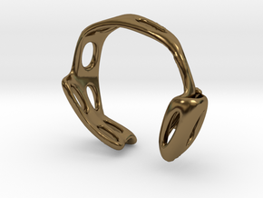 s3r026s6 GenusReticulum in Polished Bronze