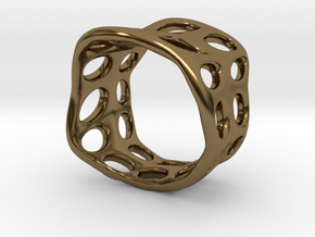 s3r031s7 GenusReticulum  in Polished Bronze