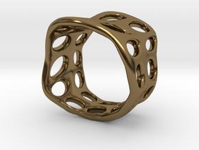 s3r031s7 GenusReticulum  in Polished Bronze
