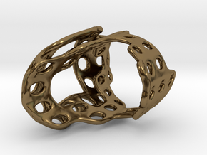 s4r011s8 GenusReticulum  in Polished Bronze