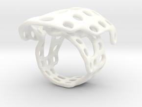 s4r014s6 GenusReticulum  in White Processed Versatile Plastic