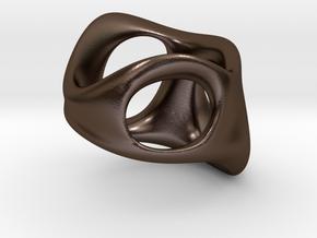 S3r032s9 GenusReticulum in Polished Bronze Steel