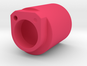 Spring cover for Shimano 600 Arabesque rear derail in Pink Processed Versatile Plastic