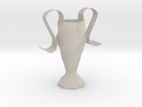 Eiscream cone holder in Natural Sandstone