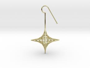 star_quad (medium) in 18k Gold Plated Brass
