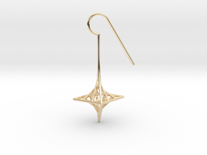 star_quad (small) in 14k Gold Plated Brass