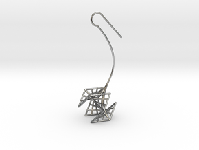 rose (small) in Fine Detail Polished Silver
