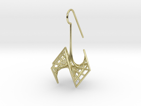 spiderRose (small) in 18k Gold