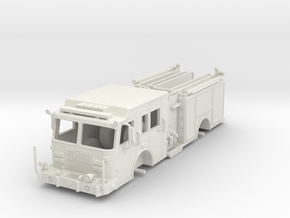1/64-Scale Contemporary Urban Pumper  in White Natural Versatile Plastic