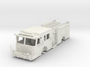 1/64-Scale Contemporary Urban Pumper  in White Natural Versatile Plastic