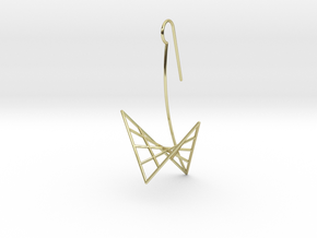 swan (large) in 18k Gold Plated Brass