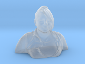 HUGE PRISCILLA HEAD in Smooth Fine Detail Plastic
