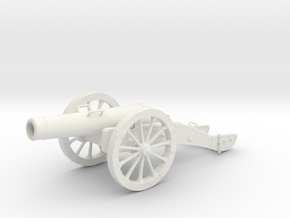 Cannon in White Natural Versatile Plastic