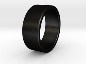 Brutus - Ring - US 9¾ - 19,5 mm inside diameter in Matte Black Steel