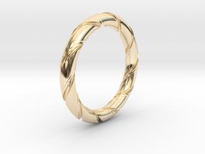 Bernd - Ring in 14k Gold Plated Brass: 7.25 / 54.625