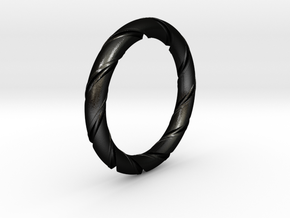 Bernd - Ring in Matte Black Steel: 7.25 / 54.625