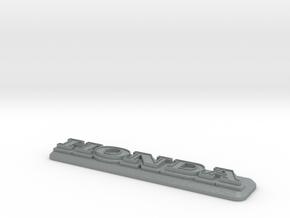 Honda Badge in Polished Metallic Plastic