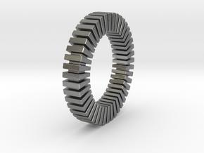 Patrick Tetragon - Ring in Natural Silver: 9 / 59