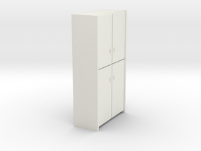 A 007 - 1 Schrank Cabinet 1:50 in White Strong & Flexible