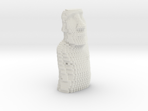 Easter Island gradient in White Natural Versatile Plastic