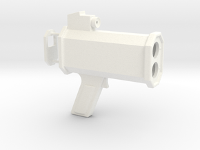1/6 Scale Radar Gun in White Processed Versatile Plastic