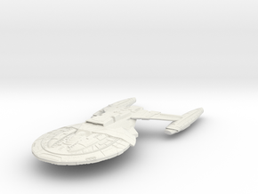 Armada Class CarrierCruiser in White Natural Versatile Plastic