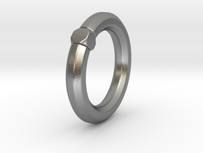 Octavius Ochuko - Ring - US 6.75 - 17.12 mm in Natural Silver: 6.75 / 53.375