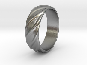 Ringo - Ring - US 9 in Natural Silver: 9 / 59