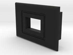 Switch Bezel - Mini Slide Switch in Black Natural Versatile Plastic