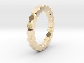 Kaethe - Ring in 14k Gold Plated Brass: 6.75 / 53.375