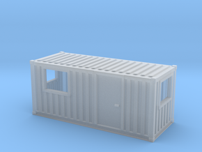 N Scale 20 Ft Office Container in Smooth Fine Detail Plastic