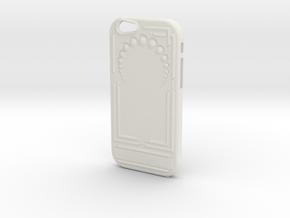Art Nouveau Iphone 6 Case in White Natural Versatile Plastic