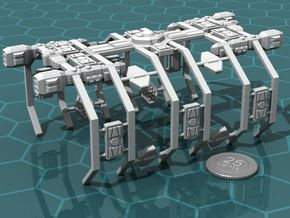 Space Dock in White Strong & Flexible