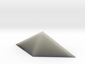Durandal gem, hollow in Transparent Acrylic
