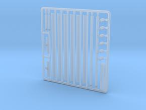 Regenrinnen Bausatz für Gebäudemodelle in 1:32 in Smooth Fine Detail Plastic