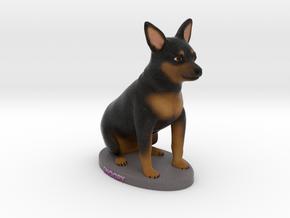 Custom Dog Figurine - Snoopy in Full Color Sandstone