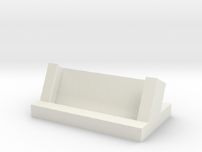 Generic Business Card Holder in White Natural Versatile Plastic