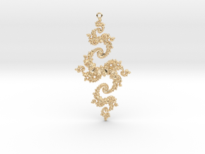 Julia Pendant 1 MP1 in 14k Gold Plated Brass
