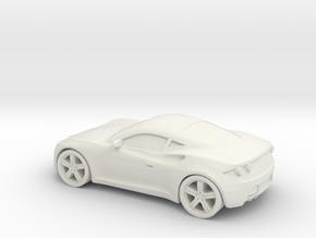 1/87 Artega GT in White Natural Versatile Plastic
